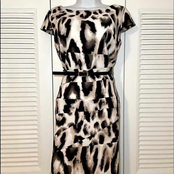 Alyx Panther Patterned, Belted Dress